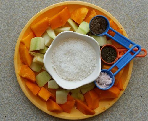 Mango Masala Cooler Ingredients