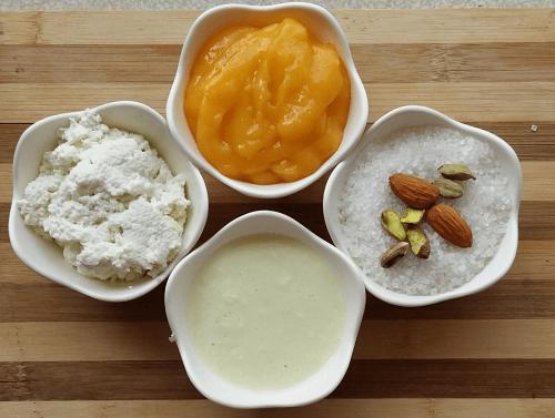 Mango Kalakand Ingredients
