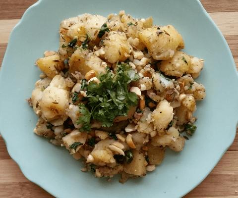 Stir Fried Potatoes Fasting Recipe