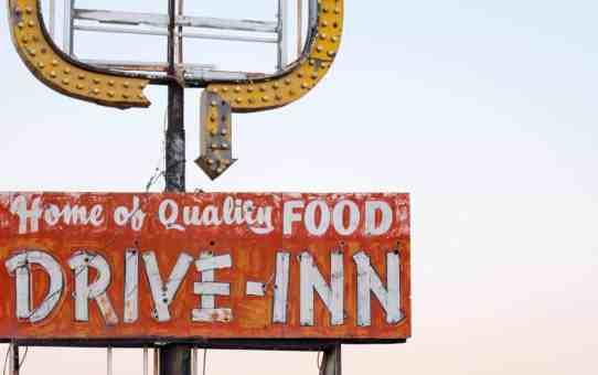 Abandoned Drive-Inn in Tucumcari