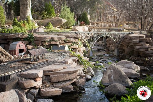 the railroad garden at the albuquerque biopark botanic garden - Abq Biopark Botanic Garden