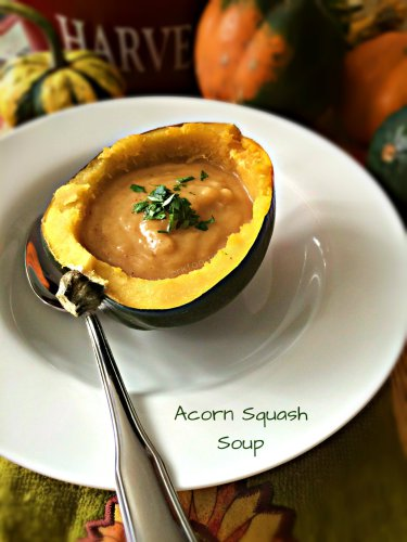 Acorn Squash Soup from A New York Foodie
