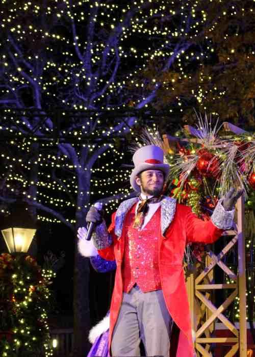 A Jingle Jazz performer at WinterFest