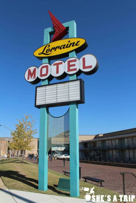 The Lorraine Motel in Memphis is an important place to learn about black history