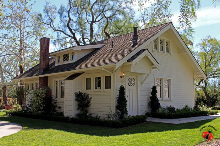 Richard Nixon was born in a farmhouse on the grounds of the Nixon Library