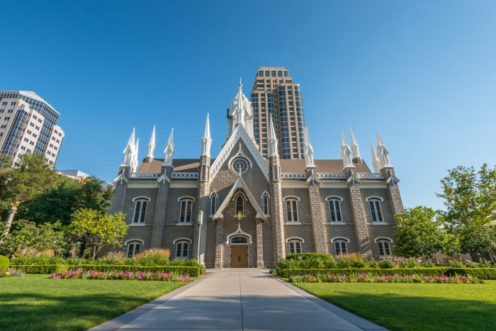 The Assembly Hall in Salt Lake City's Temple Square