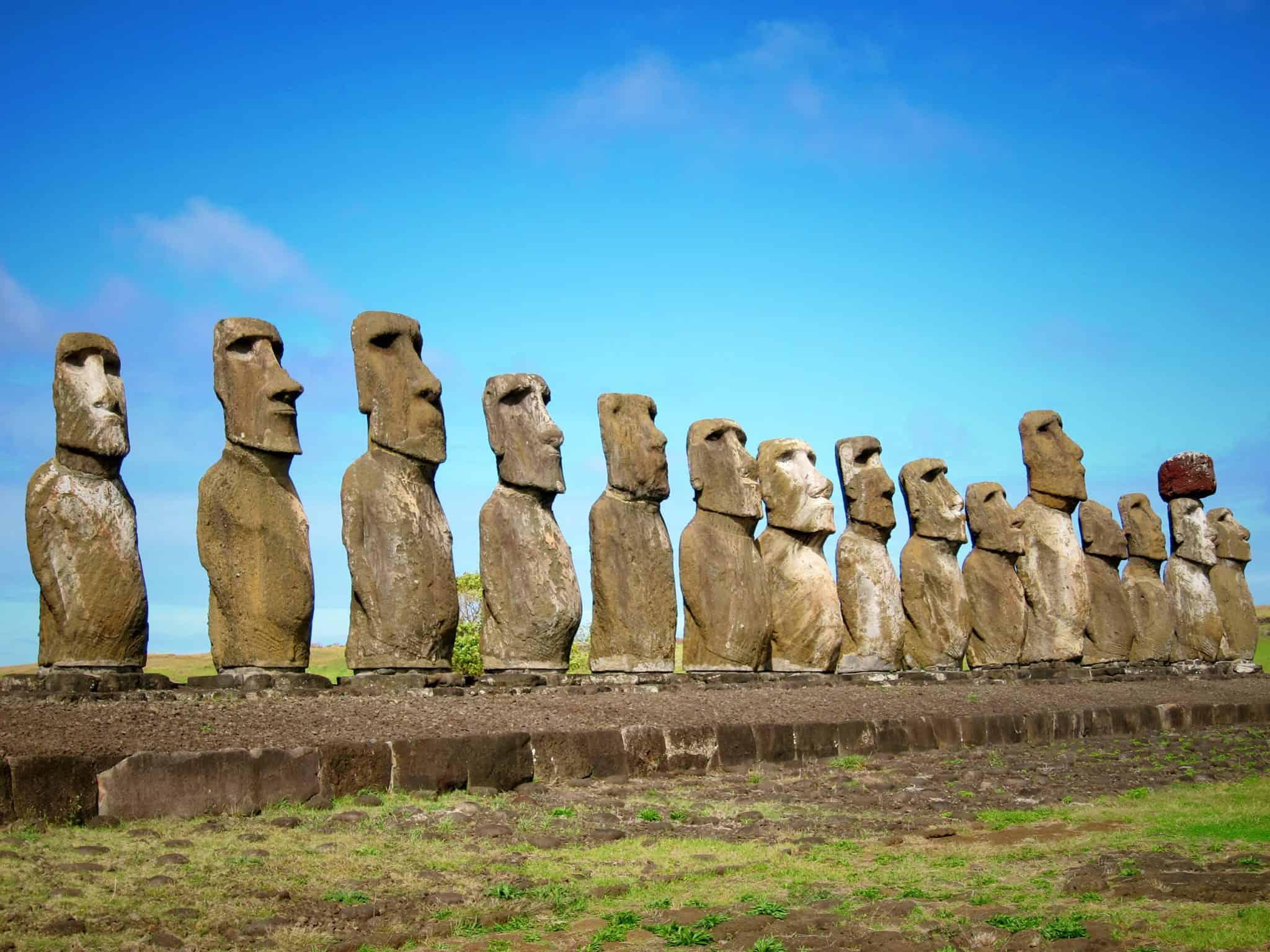 Postcard: Easter Island, Chile
