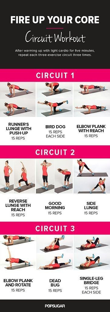 Workout Plans: Firing Up My Core | CaitlinCosmetologist