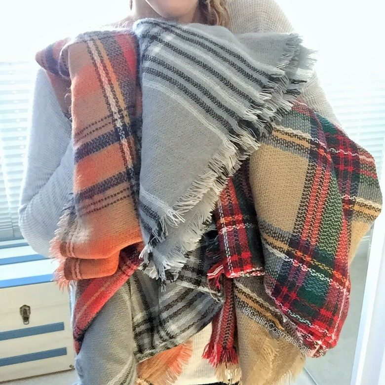 How to Style Blanket Scarves  CaitlinCosmetologist