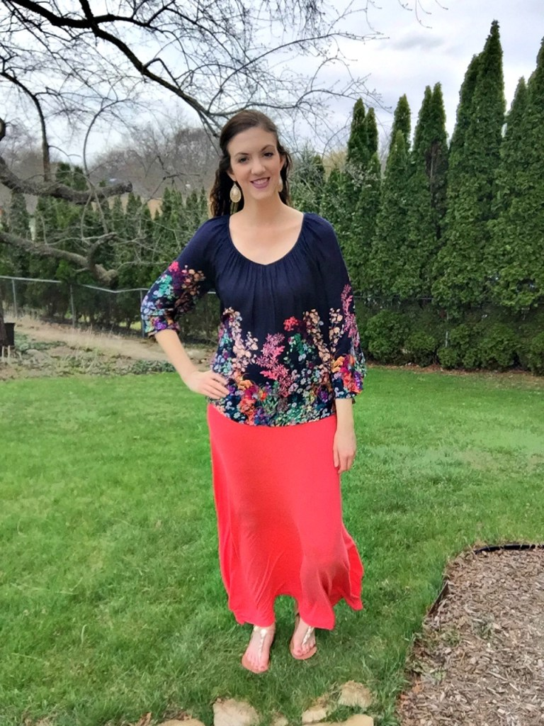 Peasant Blouse- Easter Outfit Inspiration | CaitlinCosmetologist