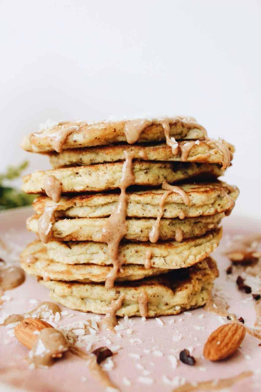 Candida Friendly Coconut Flour Pancakes