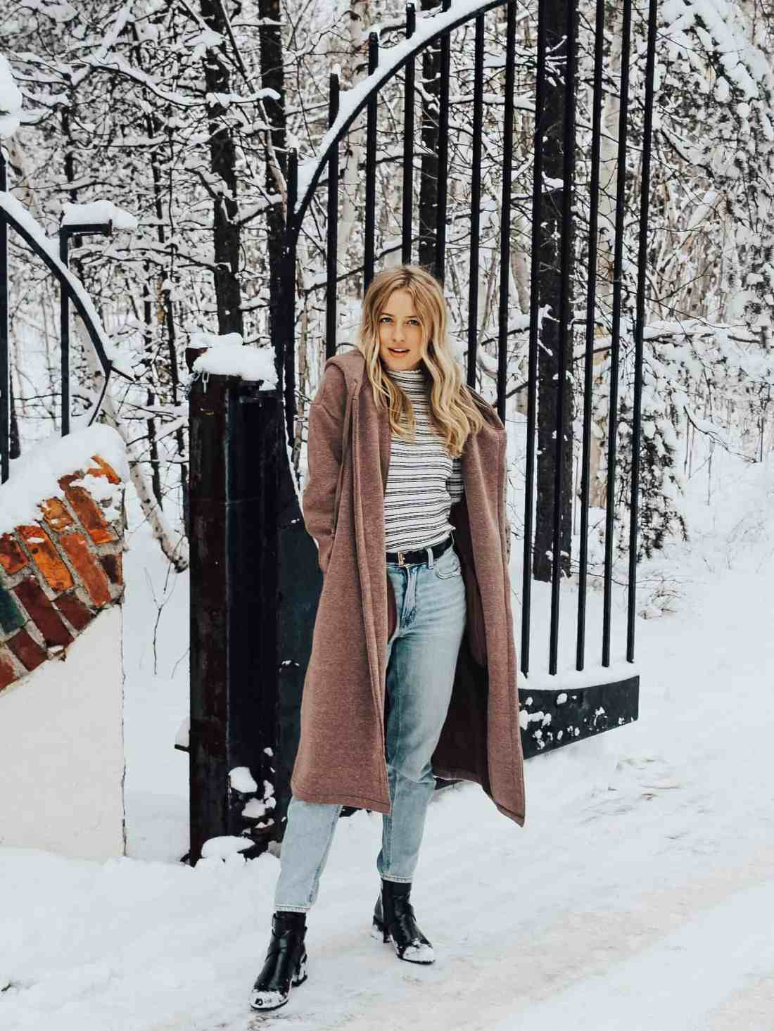 Winter Coats - The Coolest Winter Coats for Winter 2019. Featuring the best current coat trends such as faux fur, long coats, pops of color, & more!