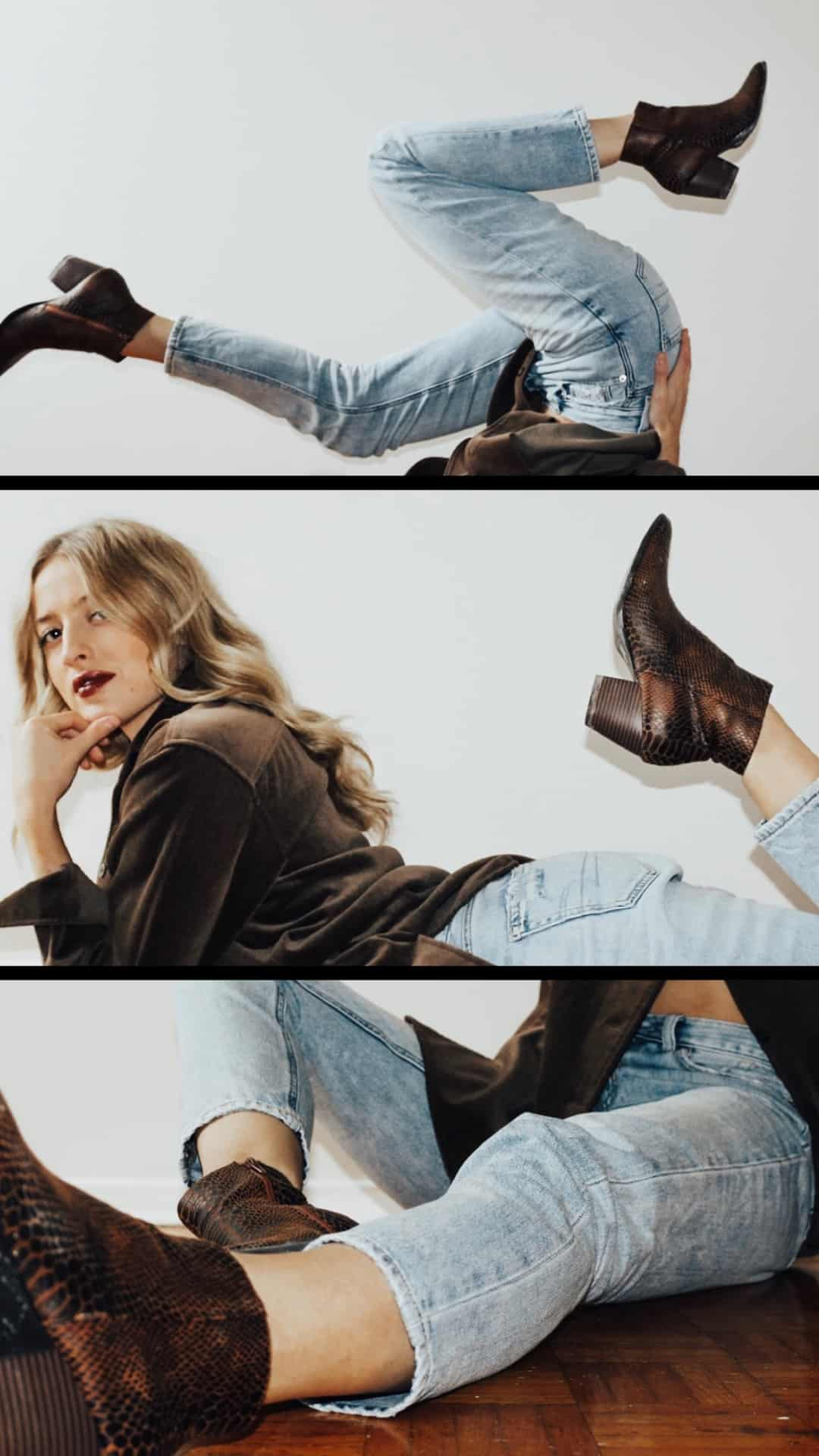 Matisse Footwear - My current obsession for women's ankle boots. The Going West Ankle Boot in Brown Snake..part of Coconuts by Matisse, is my winter go-to!