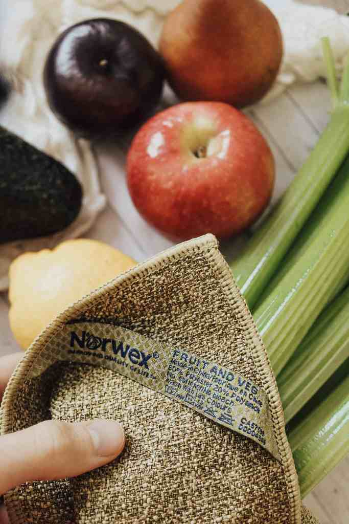 Here's why I started using the Norwex Fruits & Veg Cloth to clean unwanted wax, debris, & pesticides off of my fresh produce before consuming!