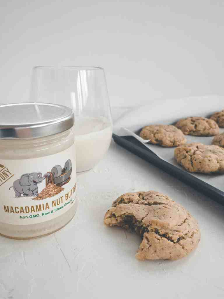 These gluten free macadamia nut cookies will knock your socks off! Not only are they gluten free, but they're vegan, refined sugar free, & SO delicious!