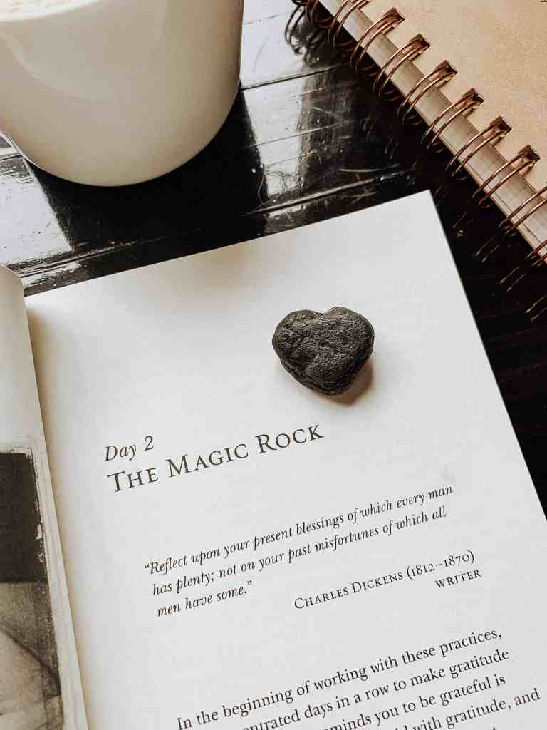 The Magic by Rhonda Byrne will help you learn the tools necessary to attracting the life you desire through 28 powerful practices centered upon gratitude!
