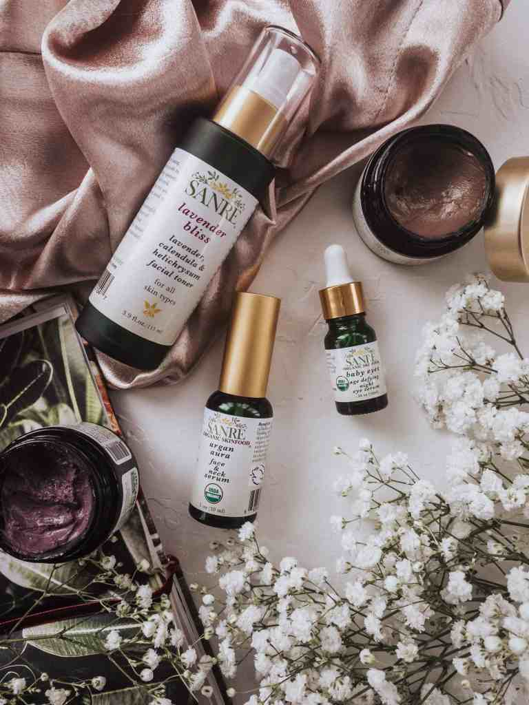 Here's my new skincare favorites from SanRe Organic Skinfood. Their amazing skincare products were designed to feed the skin & they surely don't disappoint!