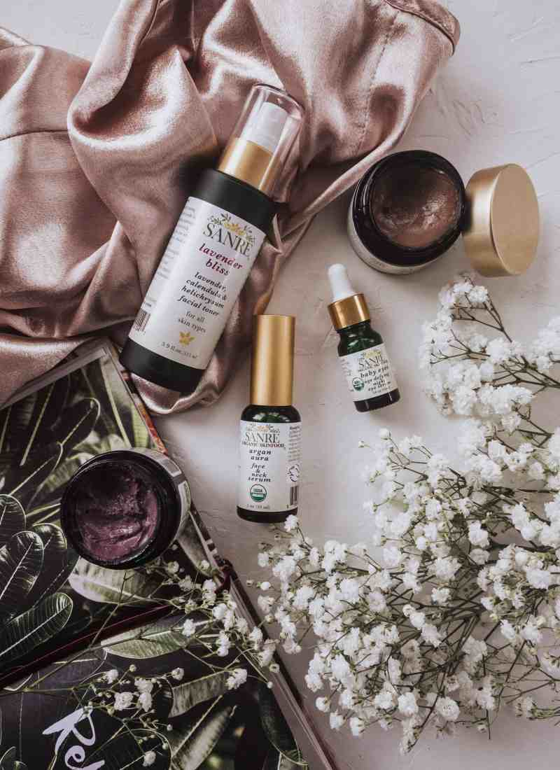 New Skincare Favorites from SanRe Organic Skinfood
