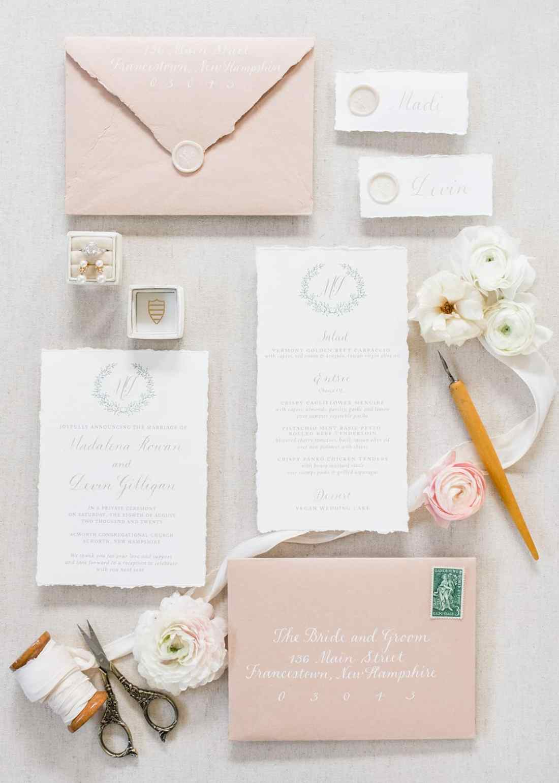 Sharing my wedding planning process, as well as, detail shots I loved from our day including my bouquet, invitations, shoes, rings, & more!