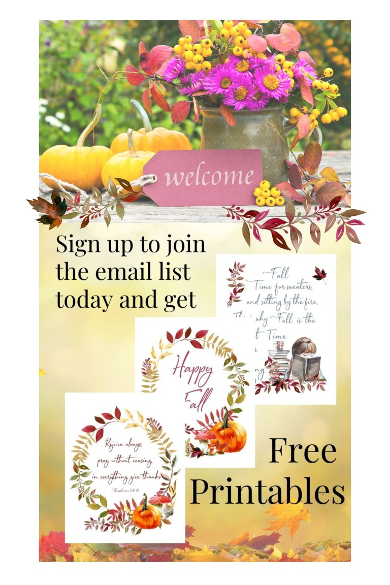 Pinterest sign up free printables