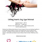 Lifting Hearts Spa Day 2013