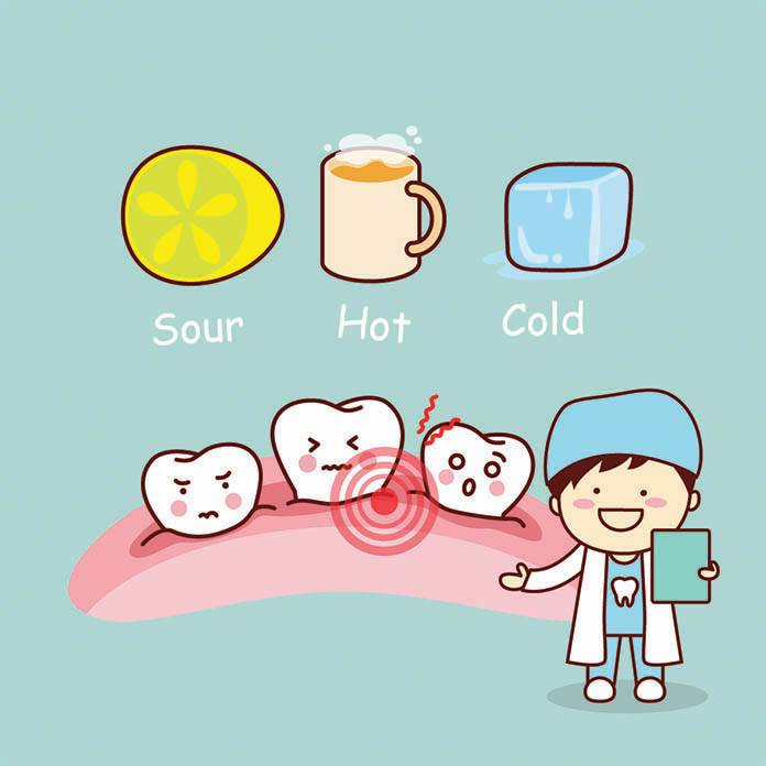 sensitive tooth