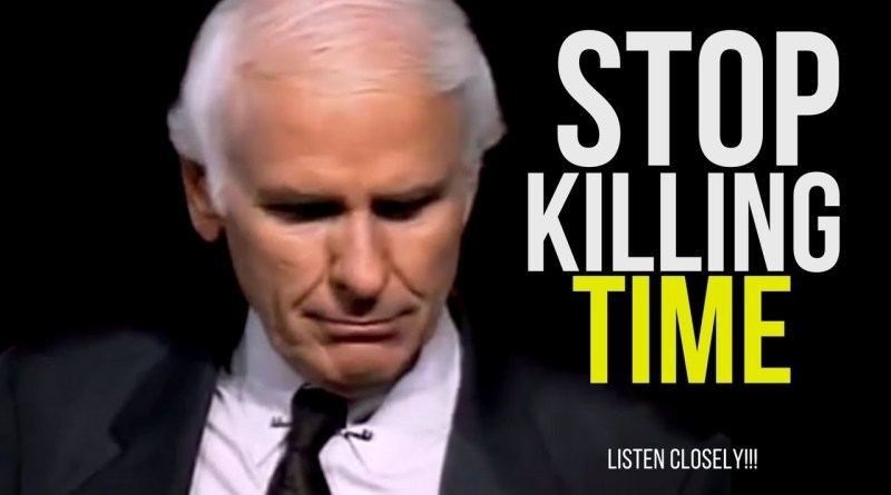 Jim Rohn: STOP WASTING ANY MORE TIME (very motivational)
