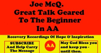 Joe McQ. - His Talk Geared Towards Helping The Beginner Understand The Disease