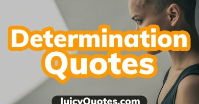 Top 15 Determination Quotes and Sayings 2019 - (Become More Determined)