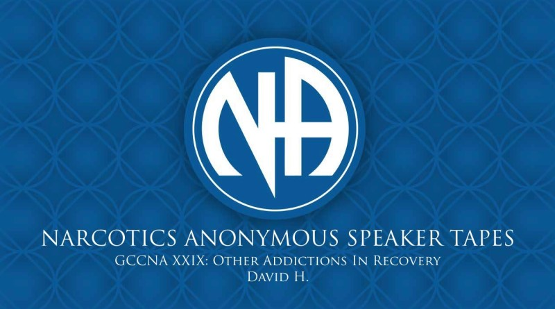 GCCNA XXIX: Other Addictions In Recovery - David H. (Narcotics Anonymous Speaker Tapes)