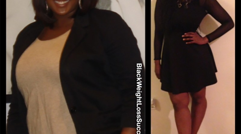 Chelly B. lost 48 pounds