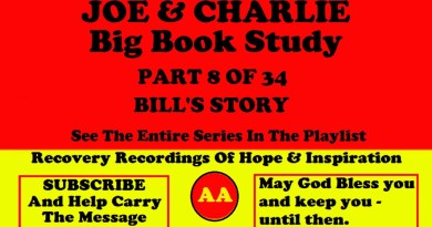 AA Speakers Joe McQ. and Charlie P. - Their Famous Alcoholics Anonymous Big Book Study #8 of 34