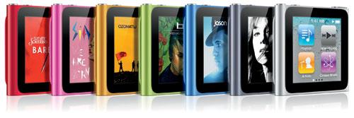 2 Generation Ipod 1 Nano 6th Apple Version
