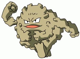 Image result for graveler pokemon
