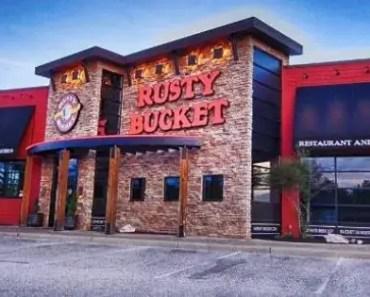 Rusty Bucket Menu Prices [Latest 2021 Updated]