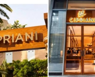 Cipriani Menu With Prices [Latest 2021 Updated]