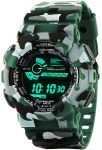 Amazon India : Addic Multicolor Dial Army Green Strap Digital sports Watch at Rs.539