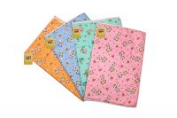 Amazon India : FARETO Baby One Sided Cotton Plastic Sheet & Changing Mat Pack Of 4Pcs at Rs.330