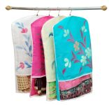 Amazon India : Yellow Weaves™ Hanging Saree Cover in Non Woven Material Set of 12 Pcs - Multi Color at Rs.499