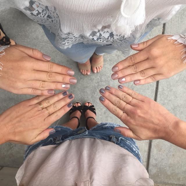Nails done at Ella Bliss beauty bar denver