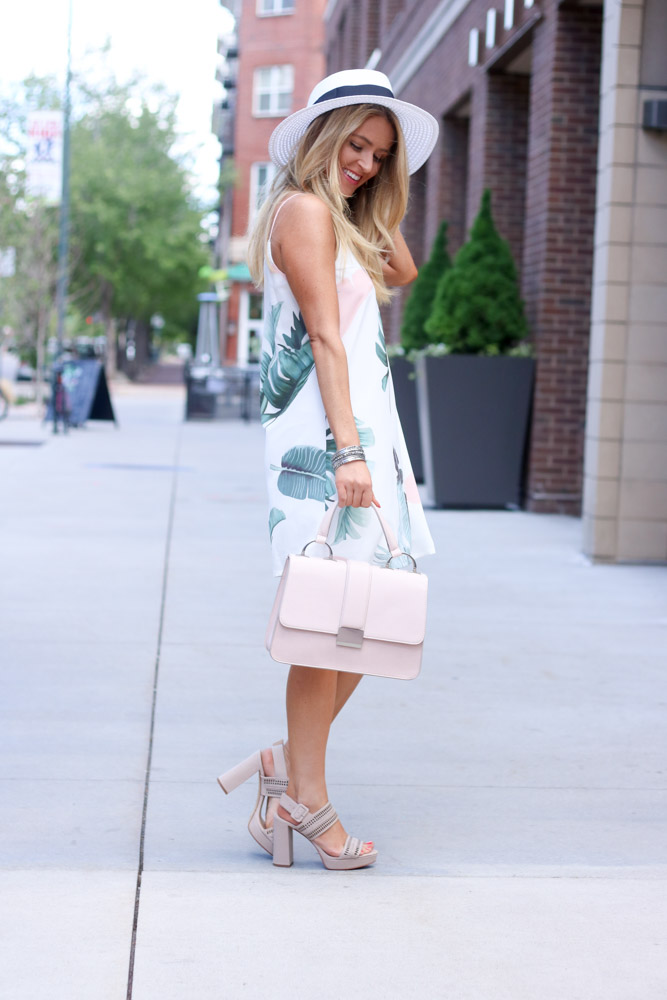 Amber from Every once in a style is wearing a vince camuto heel