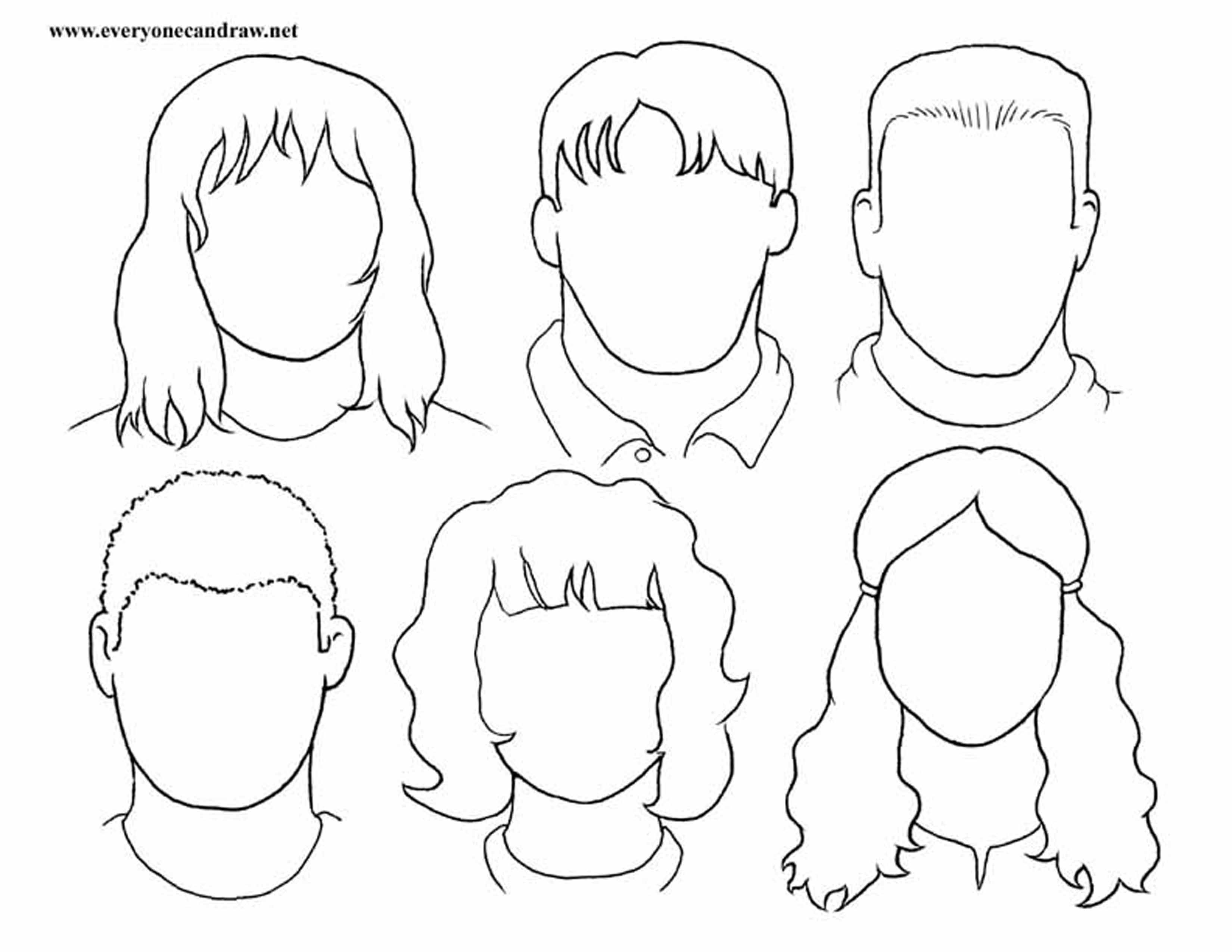 Portrait Drawings Step By Step Instructions