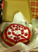 felt pizza