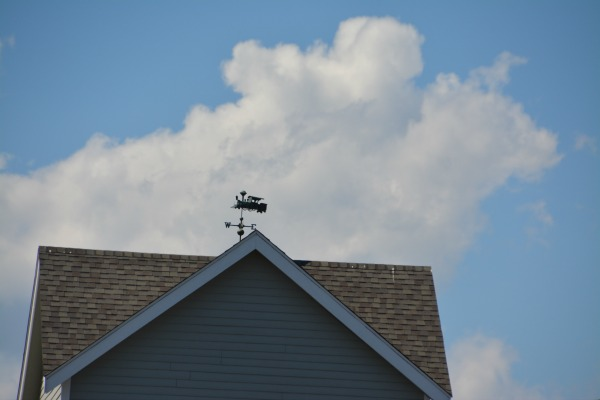 Weekend Weathervanes: Choo Choo – All Aboard in Old Saybrook, CT.