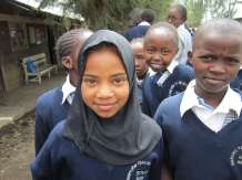 students at Nakuru Teacher's Primary School in Kiti