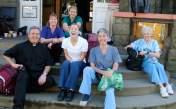 Our first Medical Clinic group (l-to r): Chris Ciccarelli, LPN; Lexie Pfister, RN; Carol Vassar MD; Nancy Hutson, RN. (back): Jill Ciccarelli MD; Jamie Worsley MD