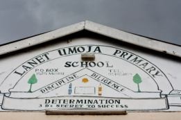 Discipline, Diligence and Determination - the Lanet Umoja Primary School motto
