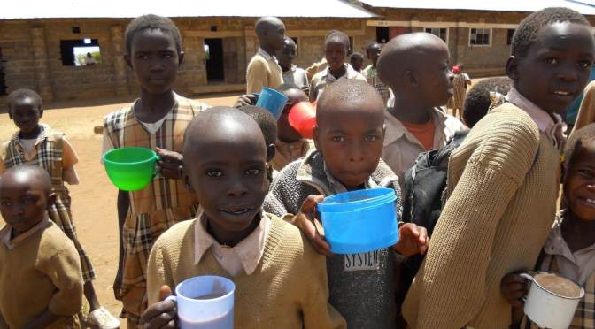 Children with a Need for provision of food in Kampi