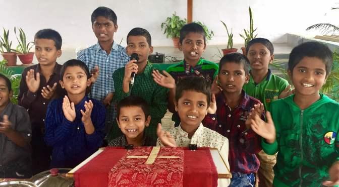 children in the ALC/EC After School Program in India
