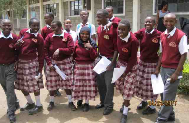 Providing scholarships for students in Kenya